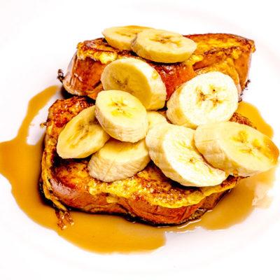 cinnamon challah french toast
