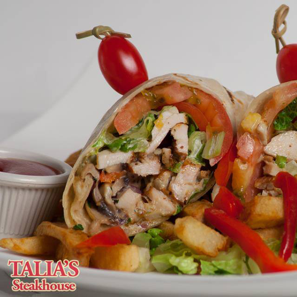 grilled-chicken-ceasar-wrap